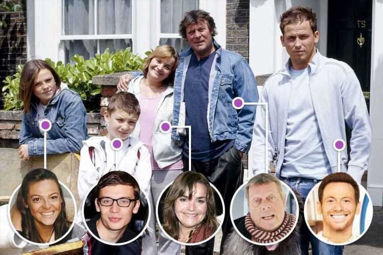 Where EastEnders' Miller family stars are now – from bankruptcy to working in a posh pub