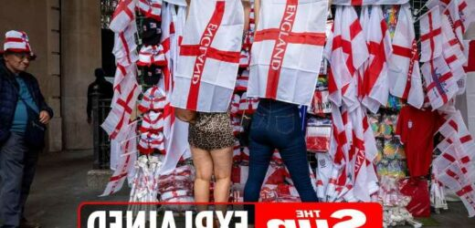 Where can I buy England flags and other Three Lions merchandise?