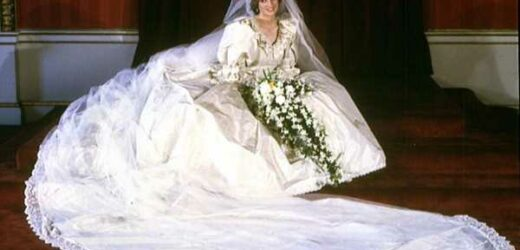Why Princess Diana Had to Be Sewn Into Her Dress Before Marrying Prince Charles