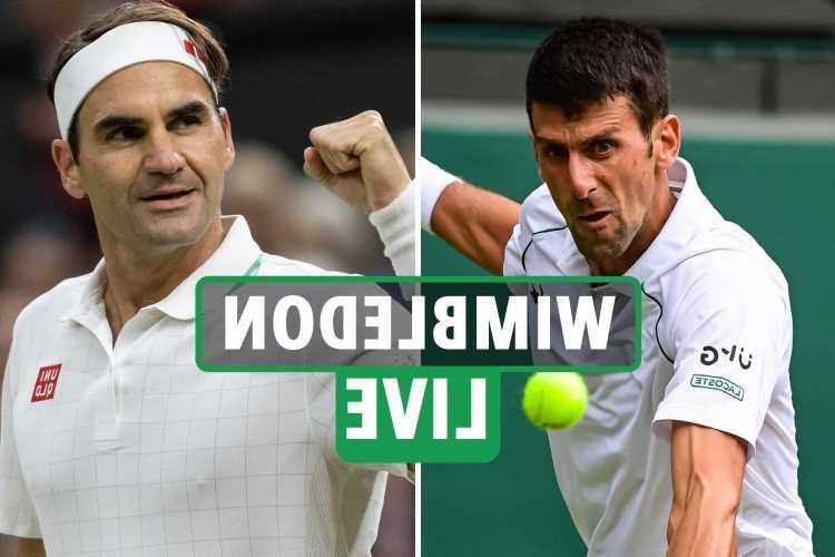 Wimbledon 2021 LIVE RESULTS: Novak Djokovic & Roger Federer quarter-finals TODAY, Emma Raducanu on 'dizziness' – latest