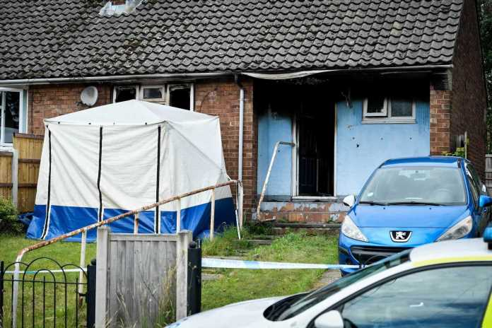 Woman dies in Manchester house fire as woman, 33, arrested for murder