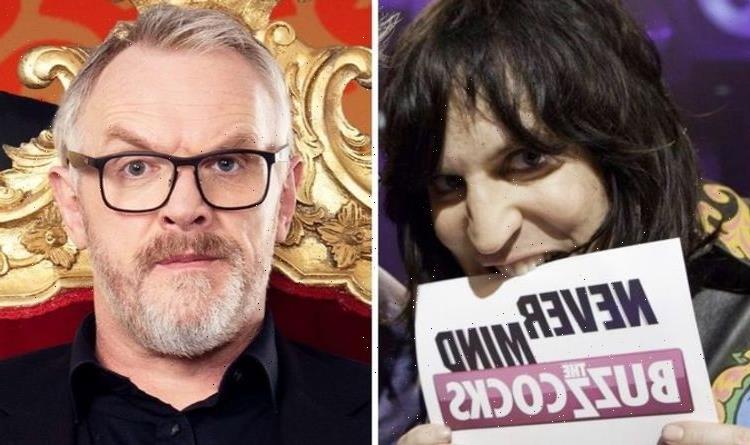 'I got plenty of s**t' Greg Davies admits Never Mind the Buzzcocks is 'brutal'