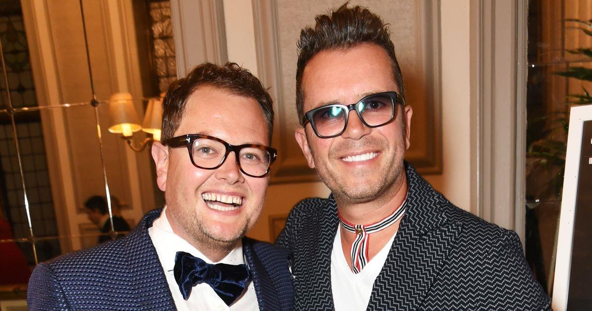 Alan Carr and husband working together as he seeks help after black eye snap