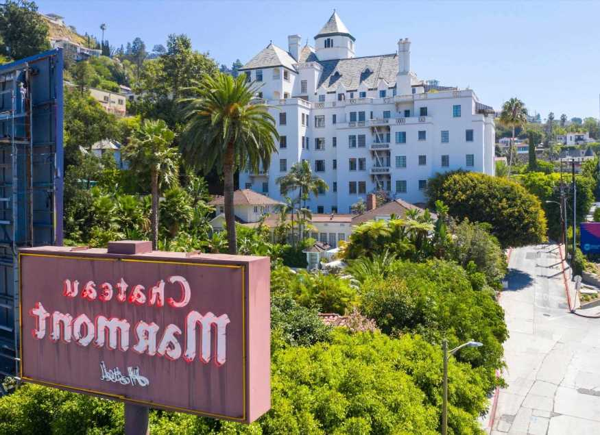 Another production pulls out of shooting at  Chateau Marmont