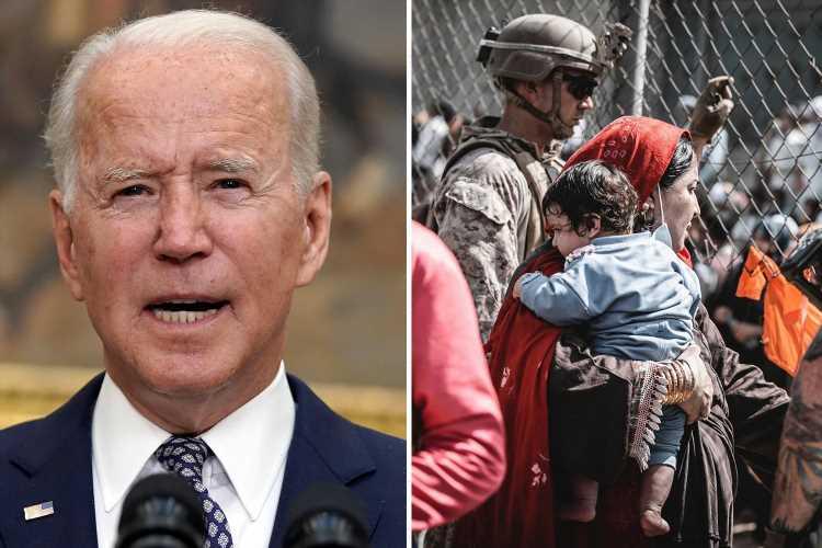 Biden slammed for leaving 'traumatized' US troops struggling to meet 'impossible' Afghan withdrawal deadline