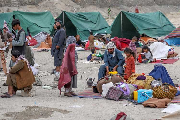 Britain to accept 'tens of thousands' of Afghan refugees fleeing terror of Taliban in new scheme