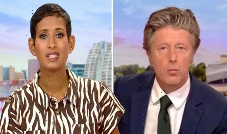 Charlie Stayt replaced as BBC Breakfast star steps in to host with Naga Munchetty