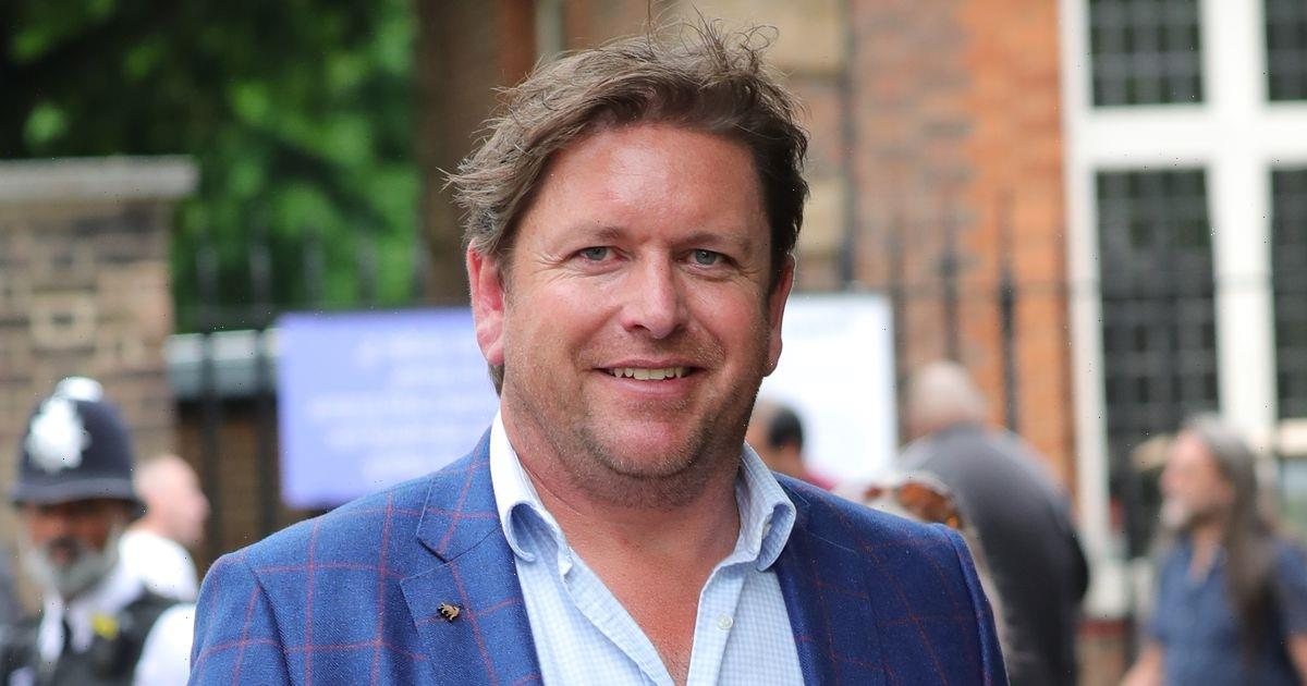 Chef James Martin thanks A&E staff for 'stitching him up' after mystery injury