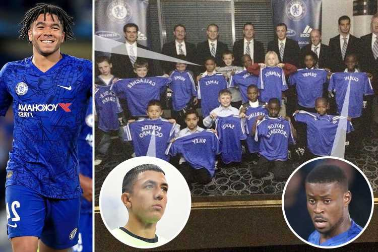Chelsea's incredible schoolboy side from 2008, which produced James and Guehi along with Liverpool and Man City stars – The Sun