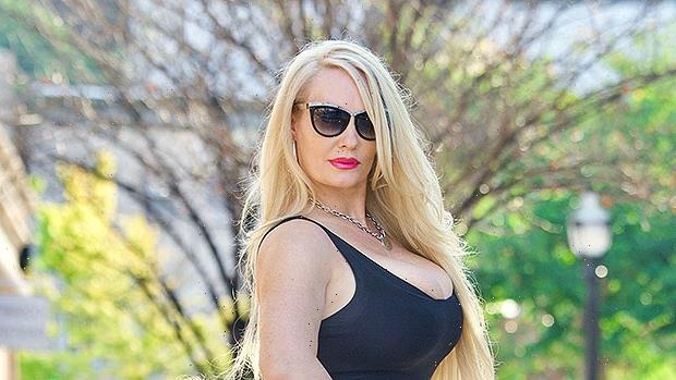 Coco Austin & Her Mini-Me Daughter Chanel Pose In Matching Comic Book-Inspired Outfits