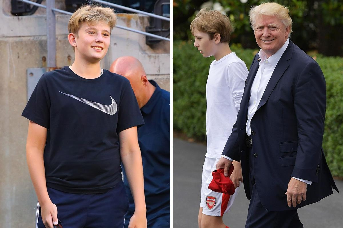 Did Arsenal fan Barron Trump choose school to become soccer star? Scandal-hit football was scrapped & focus is on soccer