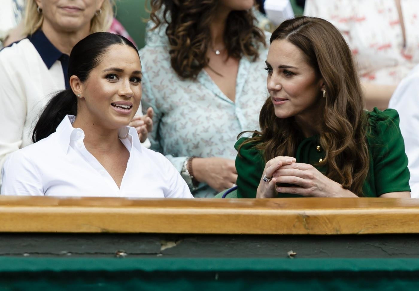Duchess Meghan wants to make a documentary about Kates charity work?  LOL.