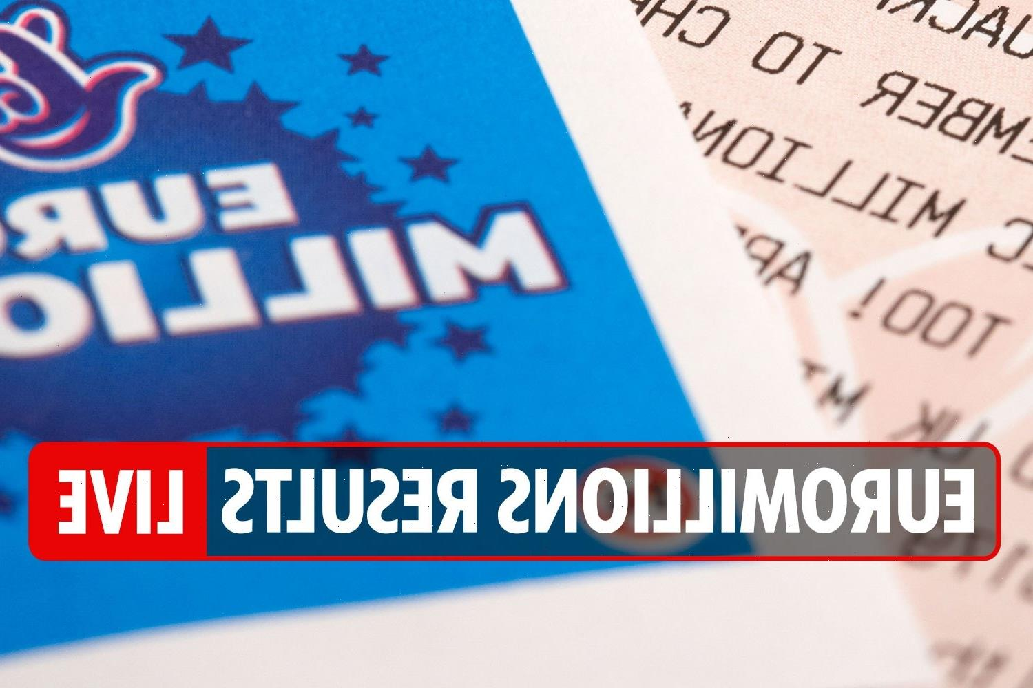 EuroMillions results LIVE: National Lottery numbers and Thunderball draw tonight, August 17, 2021