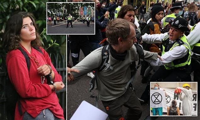 Extinction Rebellion protestors target Science Museum