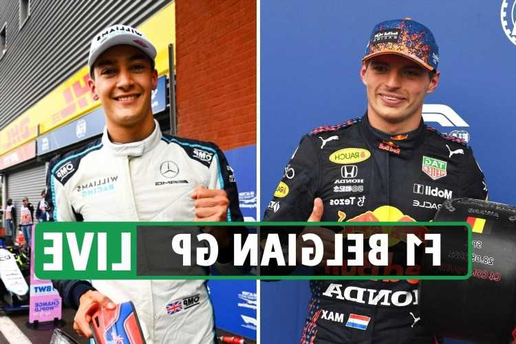 F1 Belgian Grand Prix LIVE RESULTS: Verstappen on POLE as Russell stuns Hamilton to take second at Spa-Francorchamps