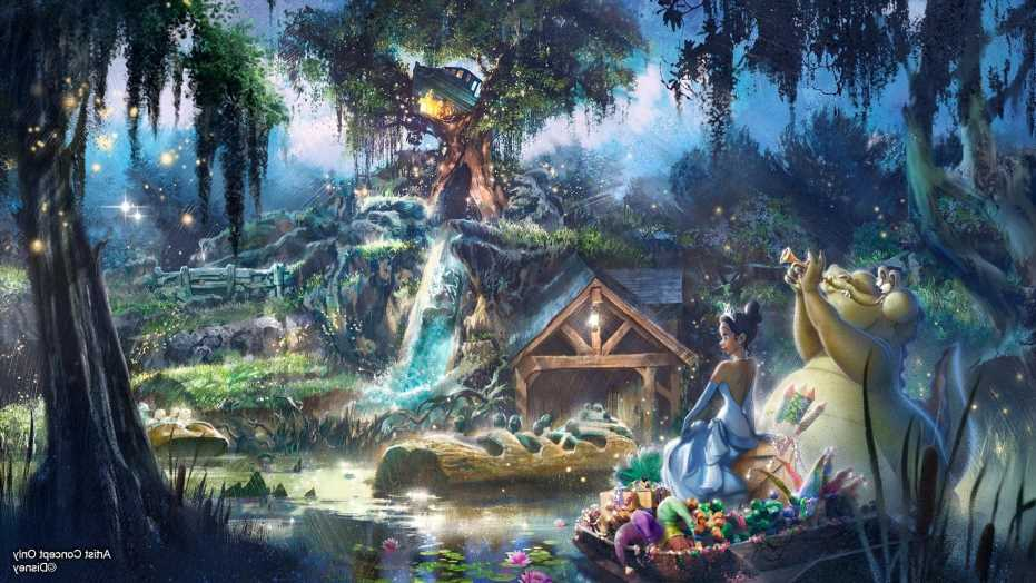 First look at Disney's new Princess and the Frog ride replacing Splash Mountain