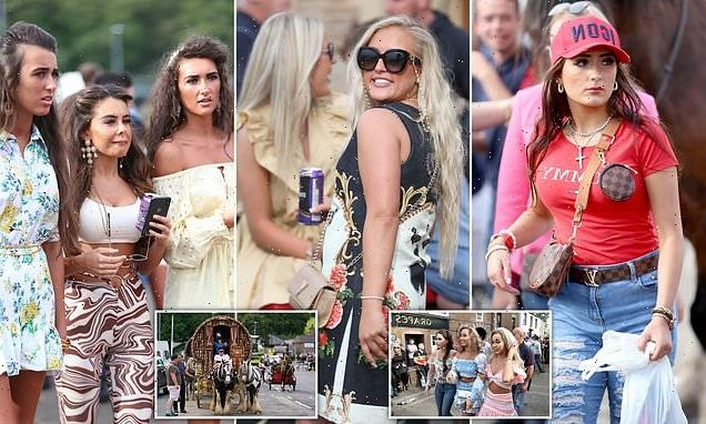 Glammed-up travellers dress to impress at Appleby horse fair