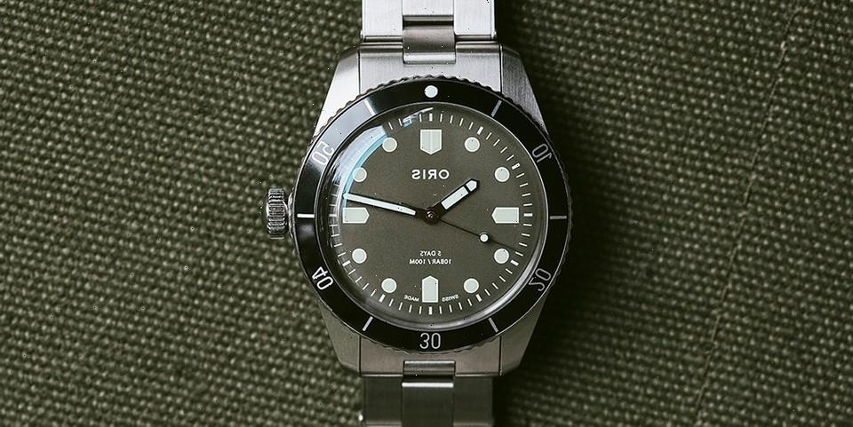 HODINKEE Reworks the Divers Sixty-Five With Oris