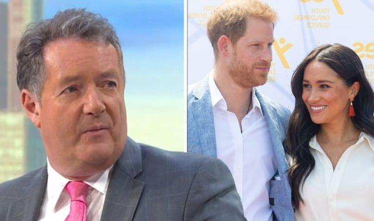 'If only!' Prince Harry and Meghan blasted by Piers for 'speechless' Afghanistan remark