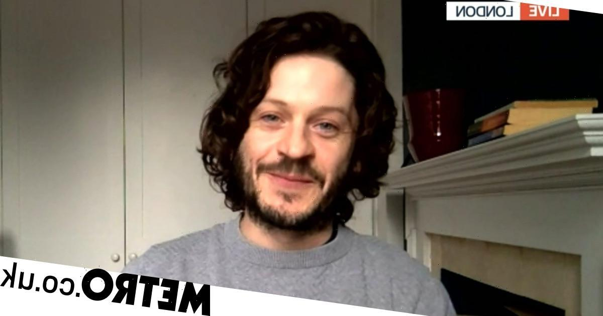 Iwan Rheon handles interview well as hosts get string of facts about him wrong