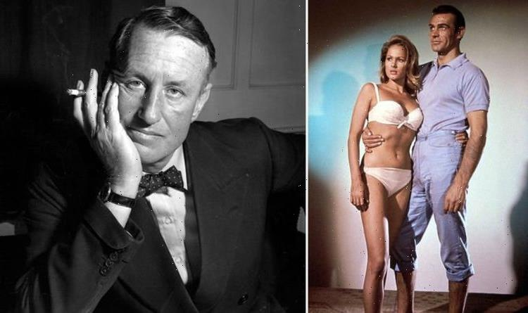 James Bond film franchise shares photo of Ian Fleming visiting Sean Connery on Dr No set