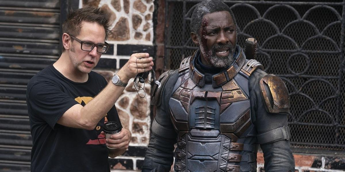 James Gunn Shares Photo of Idris Elba Operating Camera in 'The Suicide Squad'