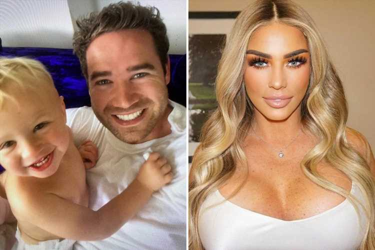 Katie Price's ex Kieran Hayler takes swipe at her as he shares throwback photos to mark their son Jett's 8th birthday