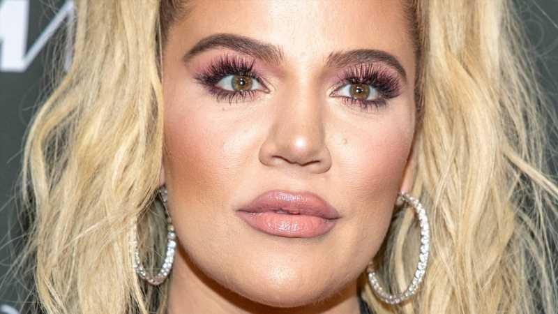 Khloe Kardashian Shows Off Her Natural Hair Texture