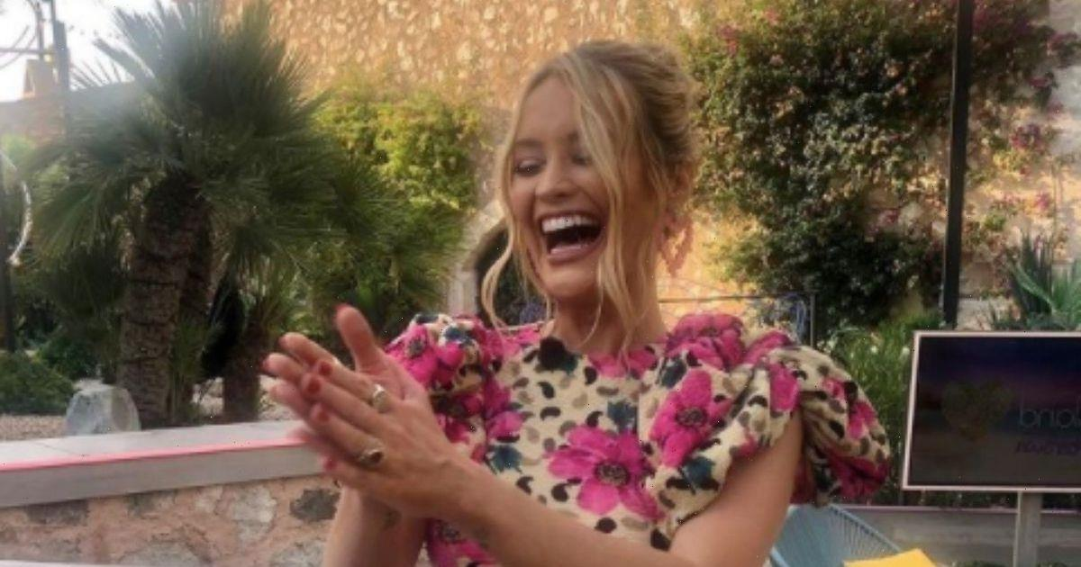Laura Whitmore champions £29 floral rental dress for the final Love Island Aftersun