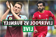 Liverpool vs Burnley LIVE: Stream, TV channel, team news as Reds take on Sean Dyche's side at Anfield – latest updates