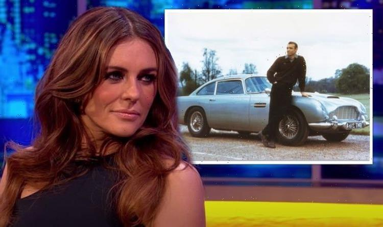 Liz Hurley hints James Bond DB5 disappearance was an 'airside job' as airport lay empty