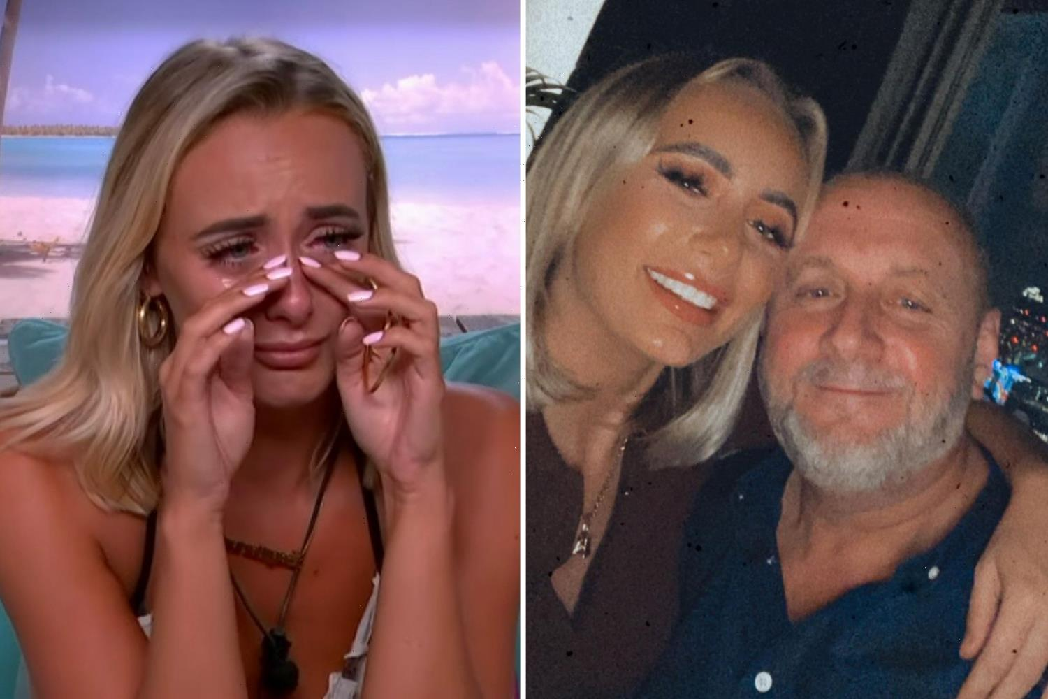 Love Island star Millie's dad says he wanted to 'dive in and hug her' after her Liam bed-hopping hell