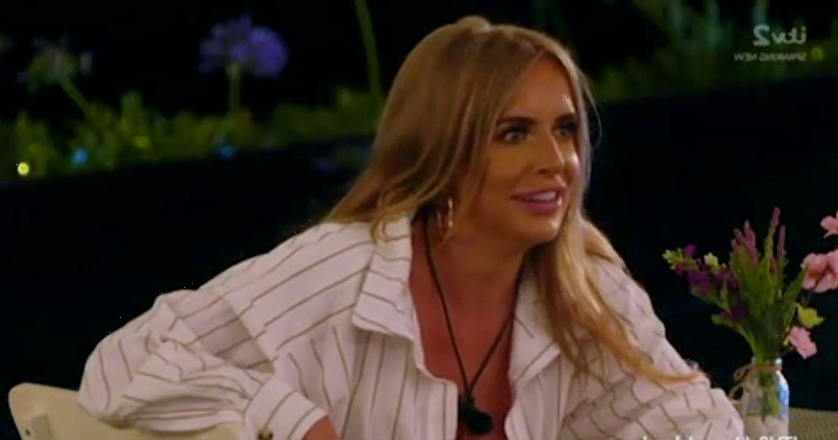 Love Island's Faye left mortified as she accidentally slips L-bomb about Teddy