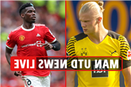 Man Utd transfer news LIVE: Pogba new contract, Haaland £64m release clause LATEST, Sancho full DEBUT vs Saints