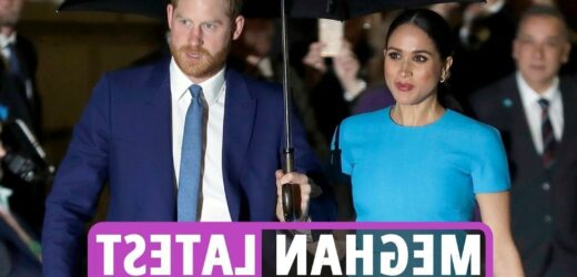 Meghan Markle 40th birthday latest – Harry and Lilibet spotted in video as Royal family send best wishes on twitter