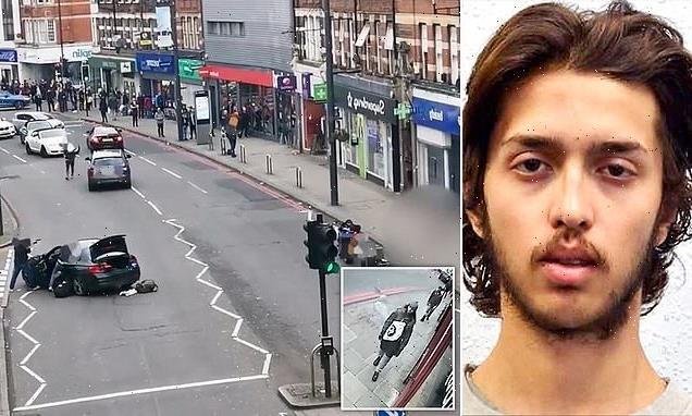 Moment undercover police gun down Streatham terrorist outside Iceland