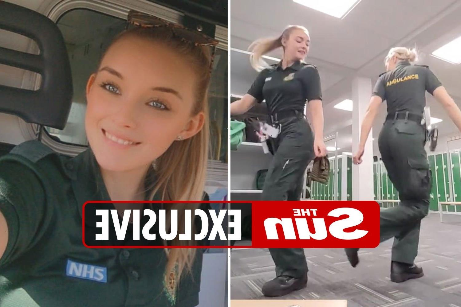 Mums of TikTok paramedics hit back at 'stupid' critics as dance videos are 'funny' and they 'save a lot of lives'