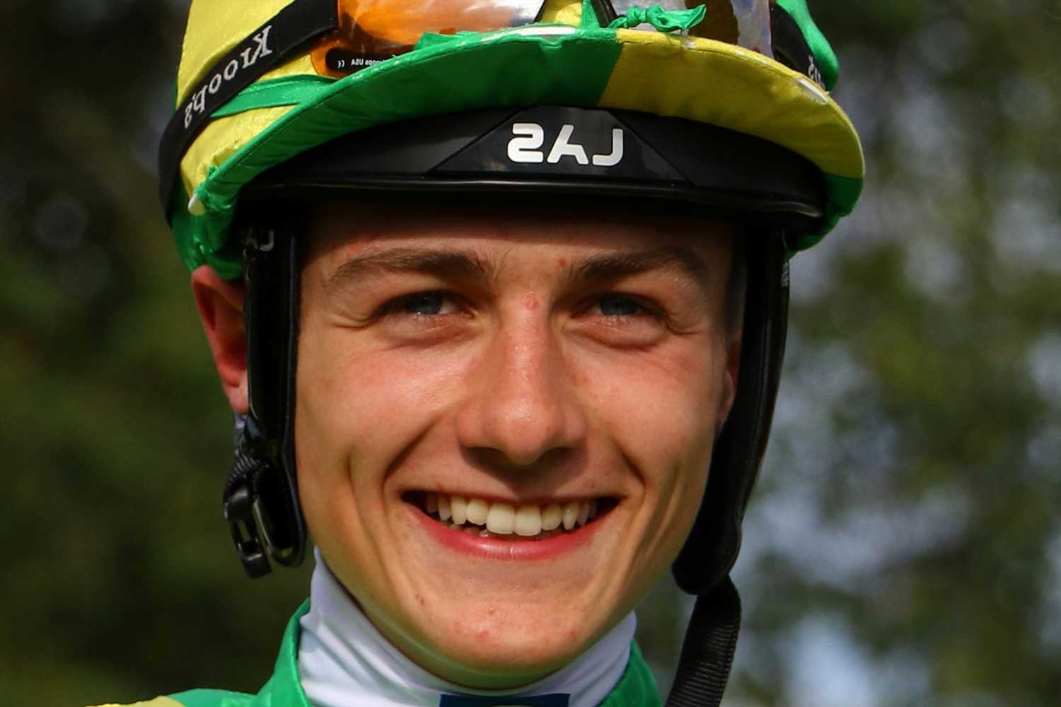 Popular jockey Michael Pitt, 19, found hanged at petrol station, inquest told as pals pay tribute to 'cracking lad'