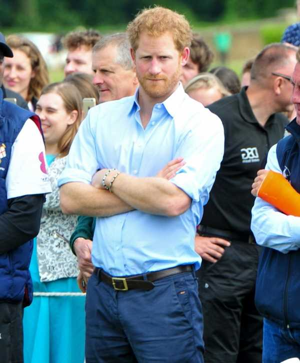 Prince Harry made a surprise appearance at a charity polo match in Aspen