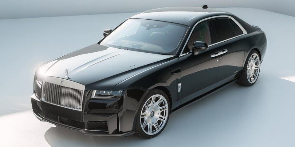 SPOFEC Adds Carbon Fiber, Rims, and Power to the Rolls-Royce Ghost II
