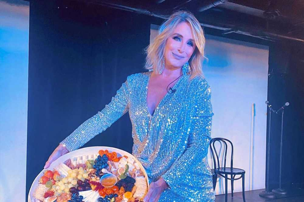 Sonja Morgan slays at dress rehearsal for her new comedy show