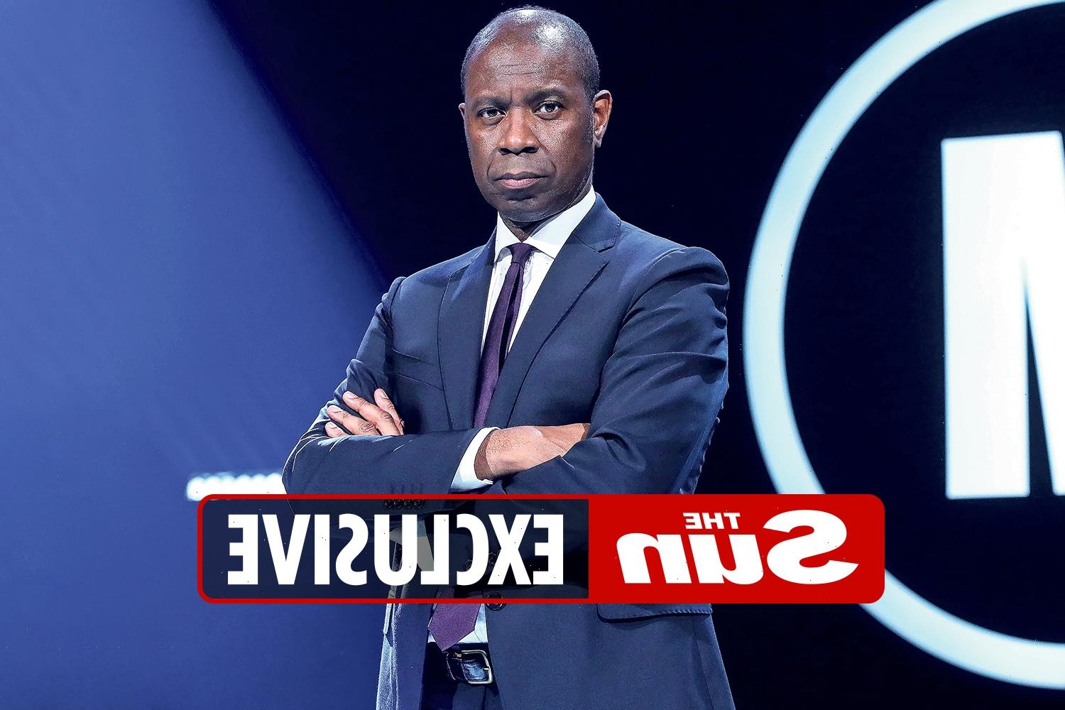 There are all sorts of kinky people who'd make a Pass at newsreaders like me, says Mastermind host Clive Myrie