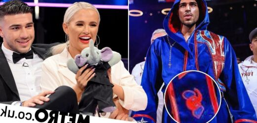 Tommy Fury's tribute to Molly-Mae Hague on boxing robe has us sobbing messes