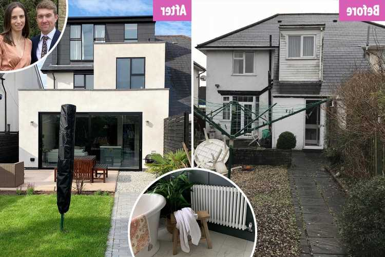 We turned our drab 1930s' semi into a £500k luxury home using skills we learnt on YouTube – it's worth £200k more now