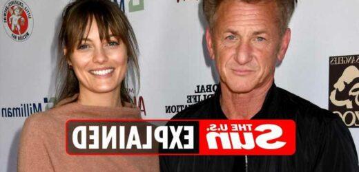 Who is Sean Penn's wife?