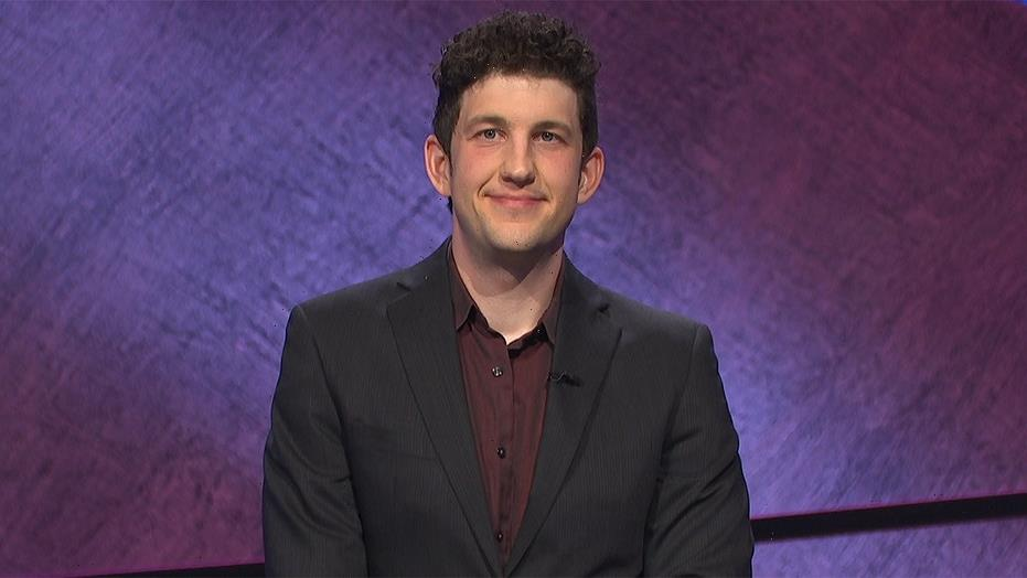 'Jeopardy!' contestant Matt Amodio becomes third player to break $1 million in earnings