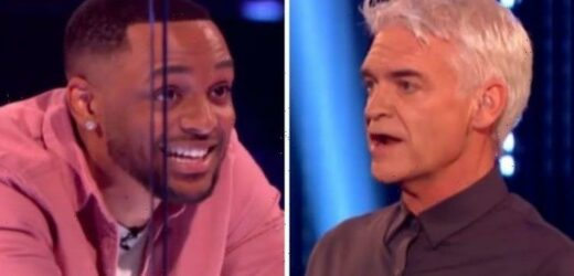 'Yikes!' Phillip Schofield watches in agony as contestants tackle new Cube game