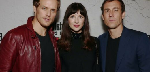 'Outlander': Sam Heughan's Reaction to Tobias Menzies' Emmy Win Is so Pure