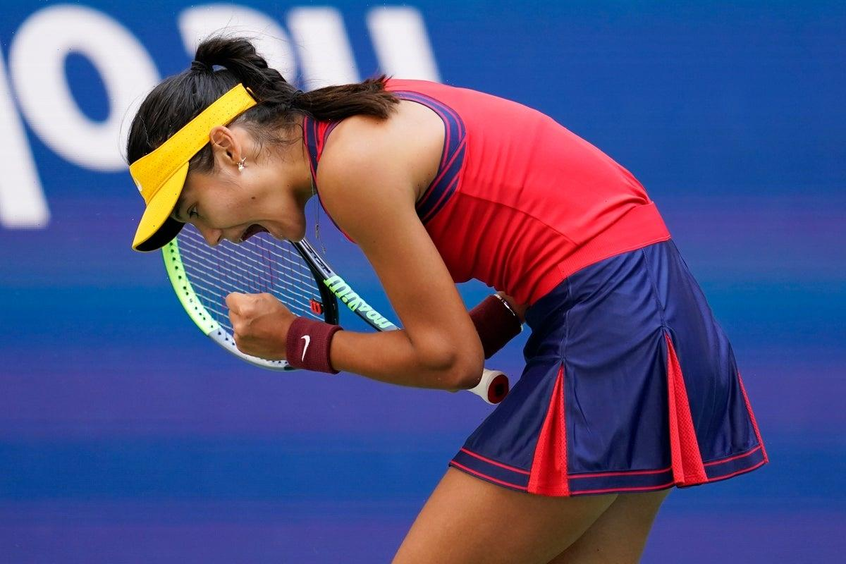A closer look at British tennis star Emma Raducanu