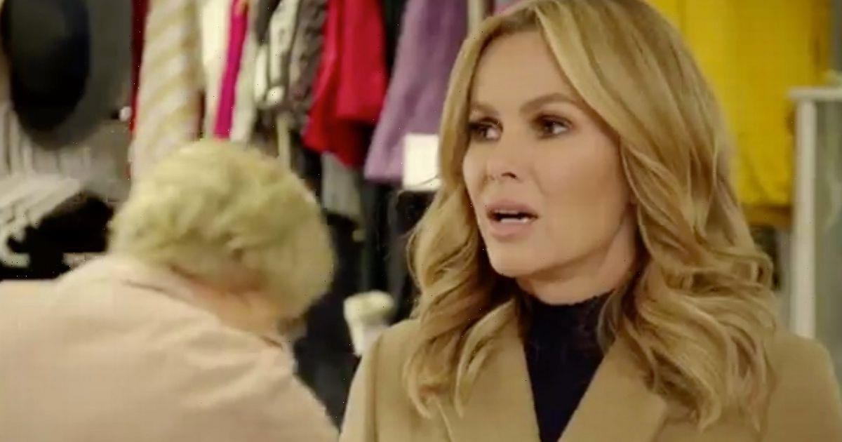Amanda Holden forced to buy back own clothes as nan donates them to charity